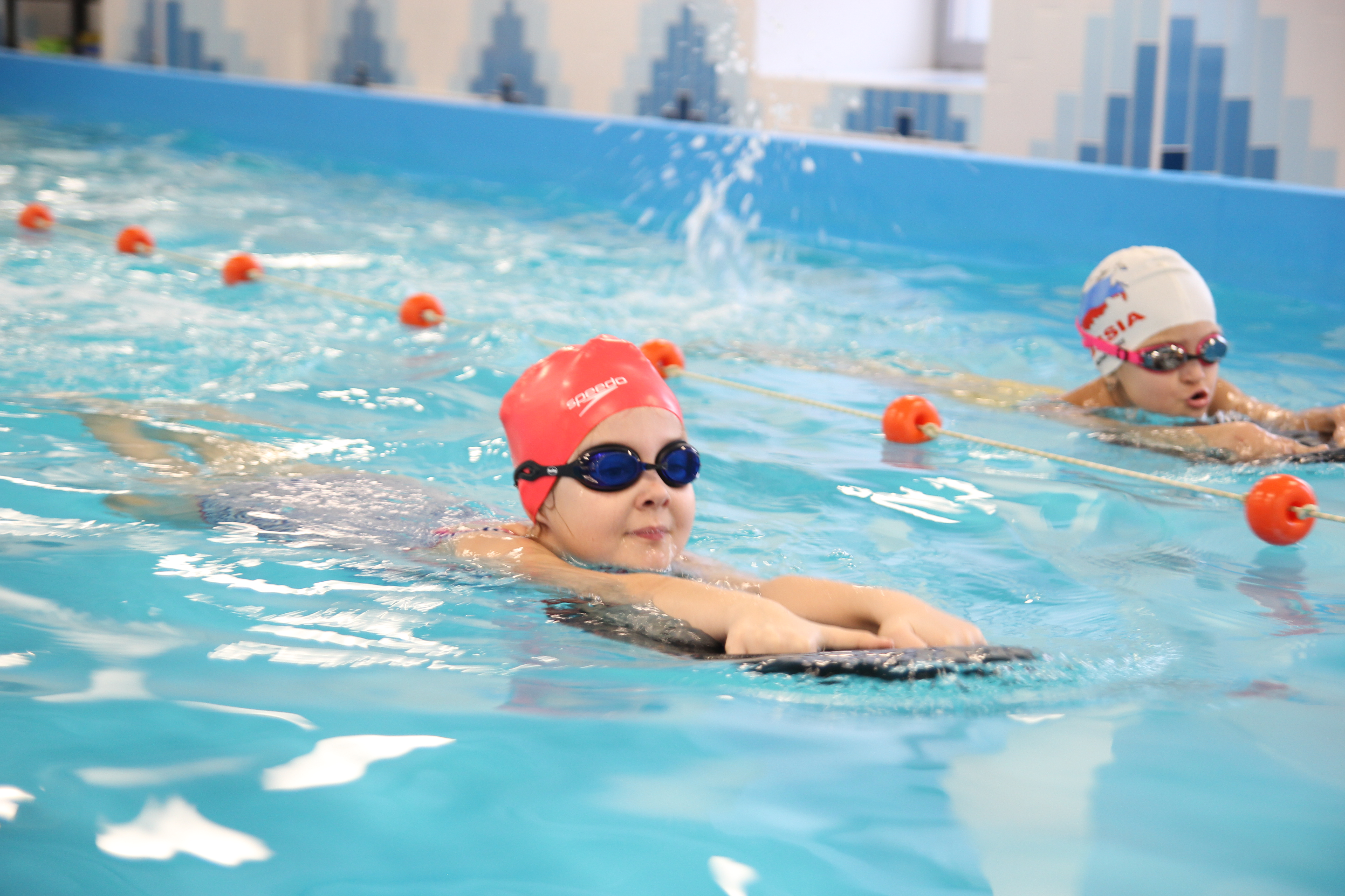 Обучение плаванию картинка для детей